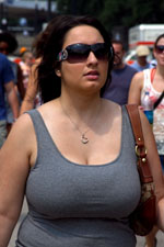 Big tits tank top candid matchless answer