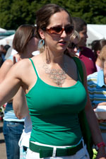 Think, Big tits tank top candid message
